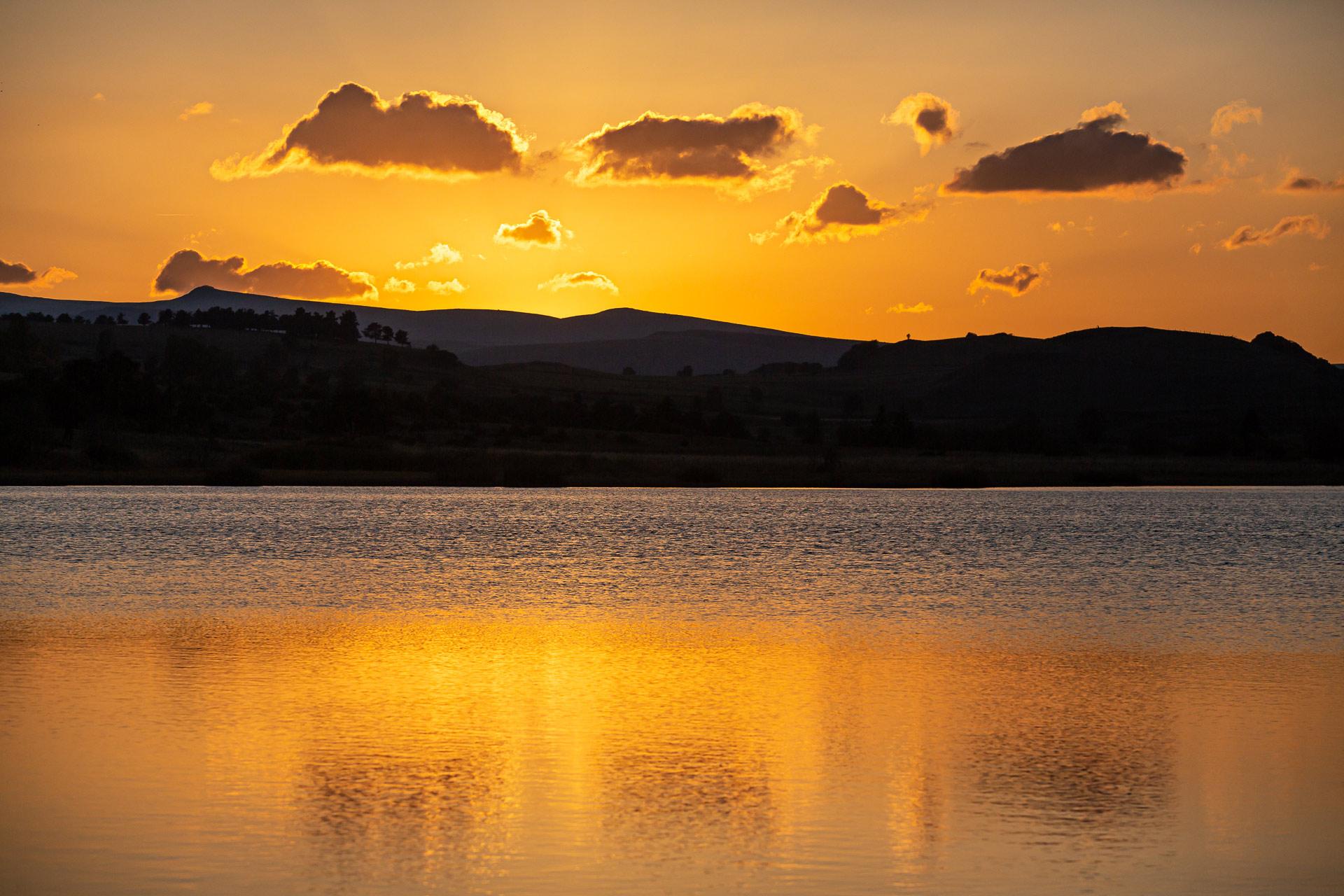 Lac du Pêcher en Auvergne