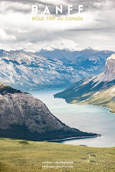 Lac Minnewanka Banff Alberta Canada