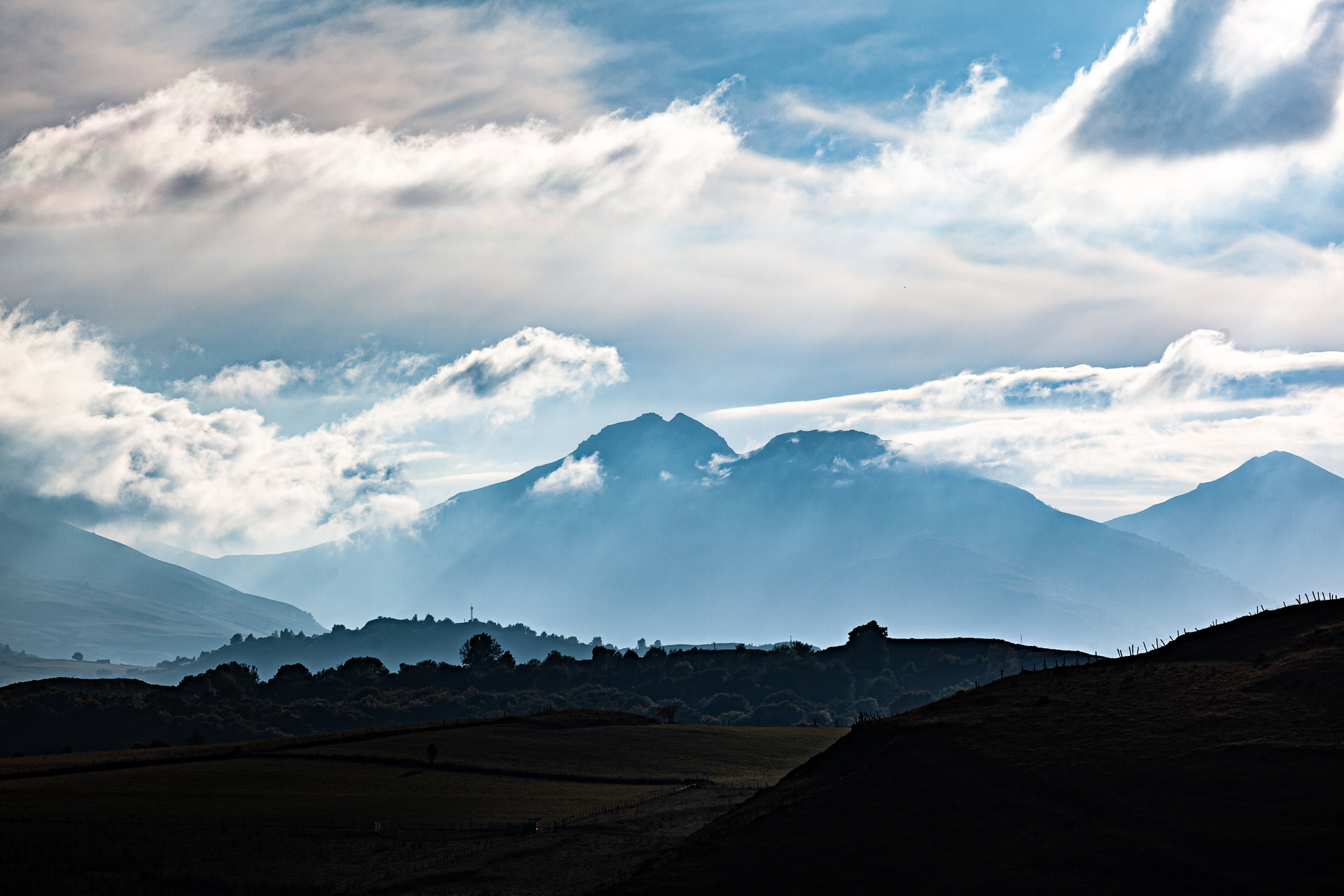 Puy Mary Peyre Arse volcans Auvergne