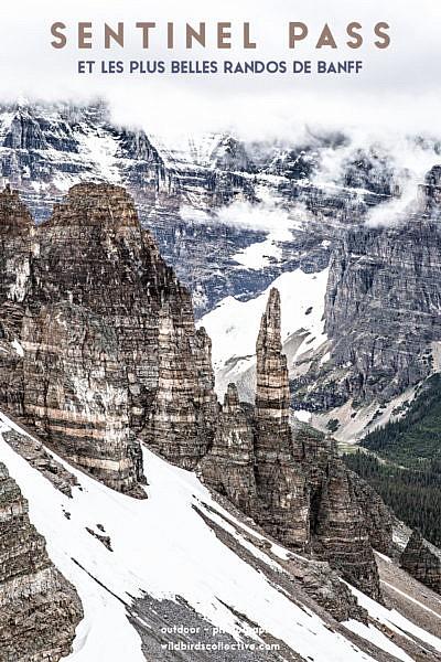 Sentinel Pass Banff Alberta Canada