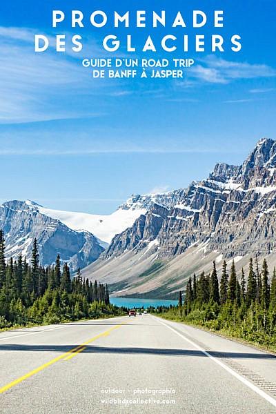 Guide promenade des glaciers Canada