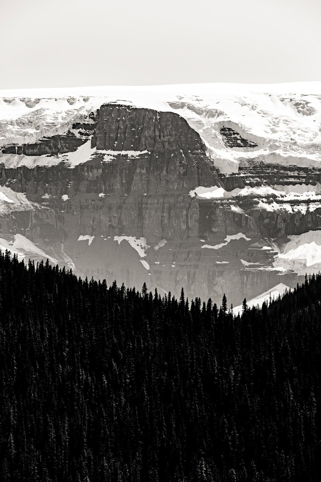 Glacier Stutfield promenade des glaciers Canada