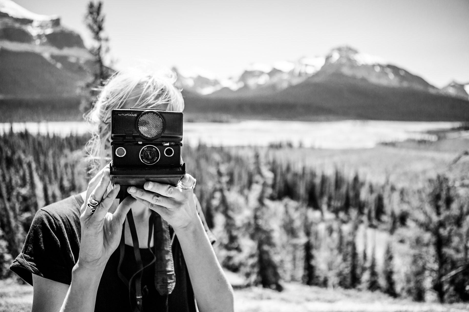 Photographier la promenade des Glaciers Canada