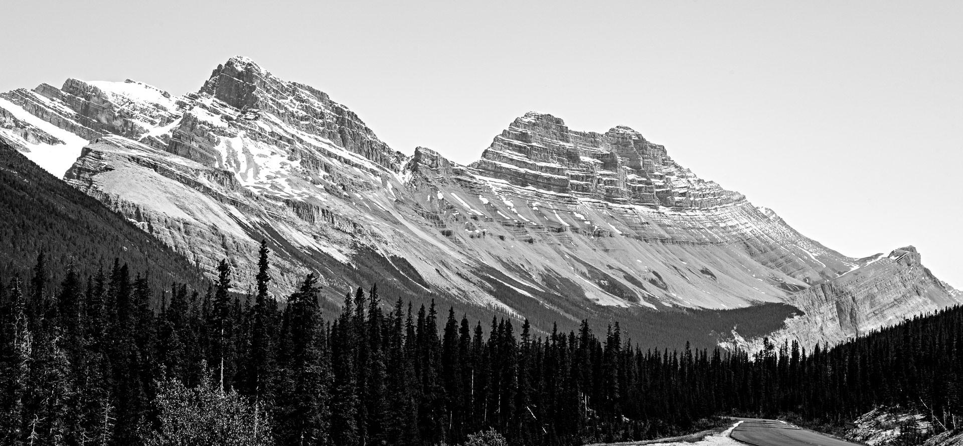 Cirrus Mountain promenade des Glaciers Canada
