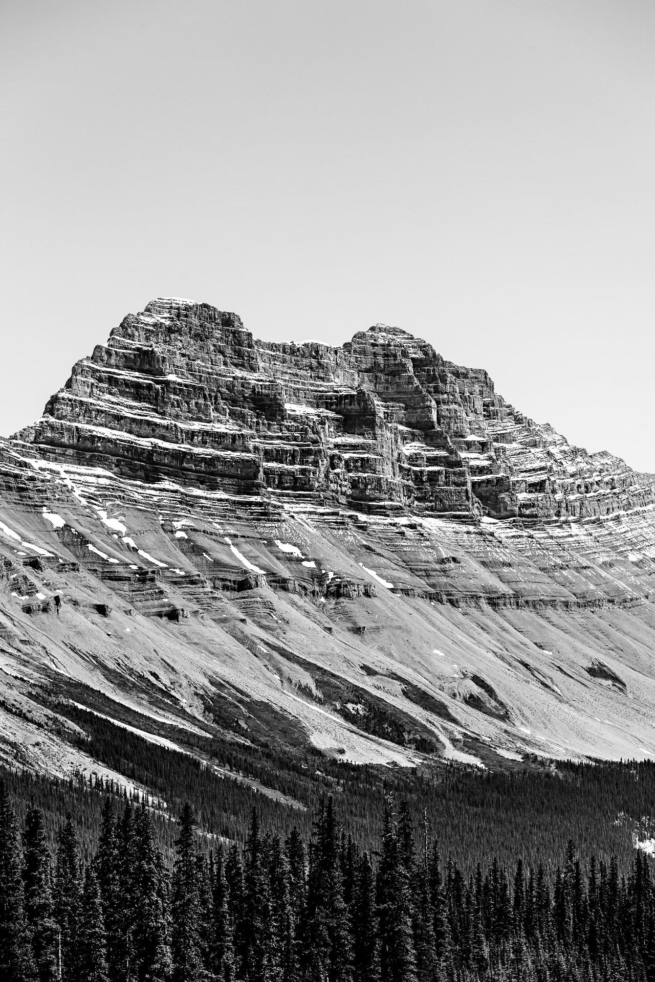 Mont Cirrus promenade des Glaciers Canada