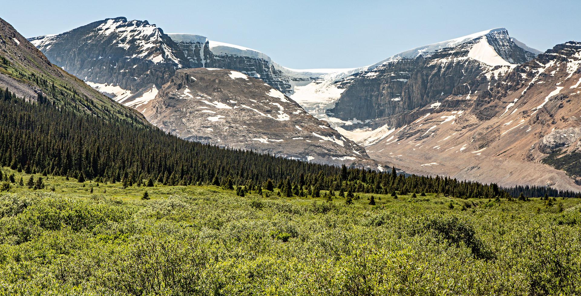 Columbia Icefields promenade des Glaciers Canada