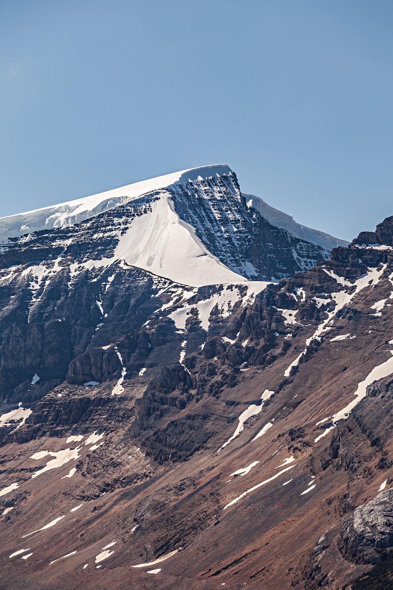 Champ de glace Columbia promenade des Glaciers