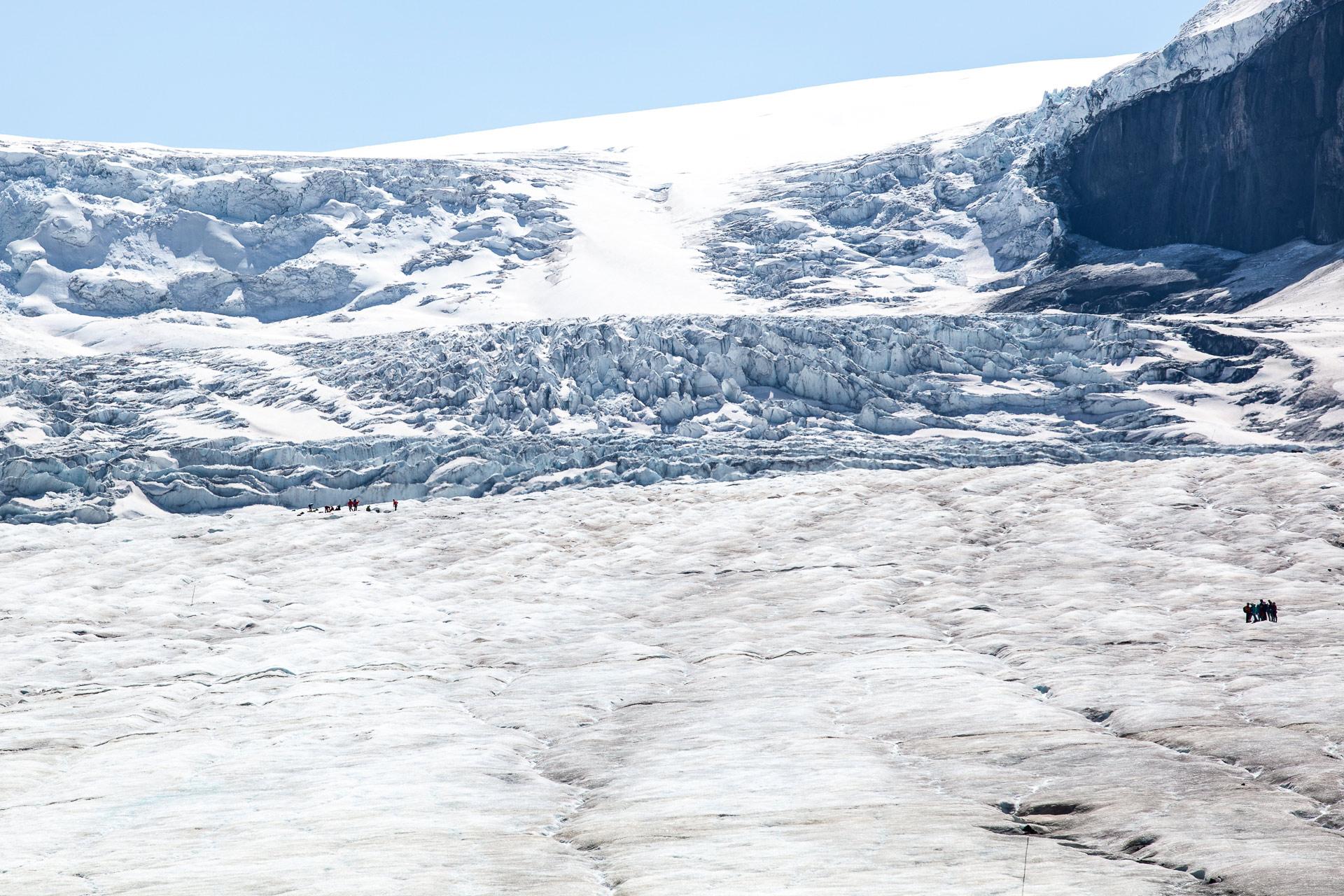 Glacier Athabasca promenade des Glaciers Canada