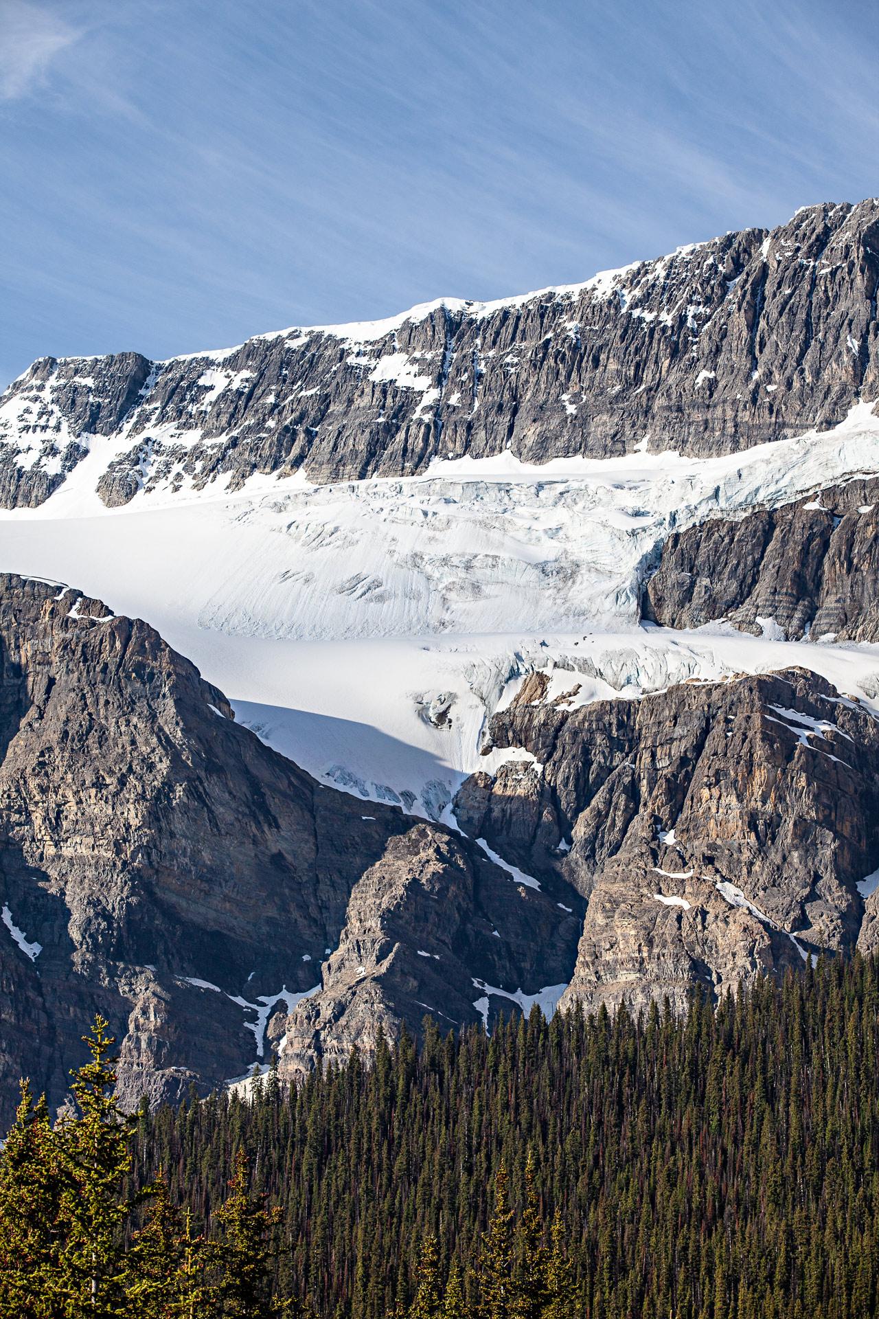 Glacier Crowfoot promenade des glaciers