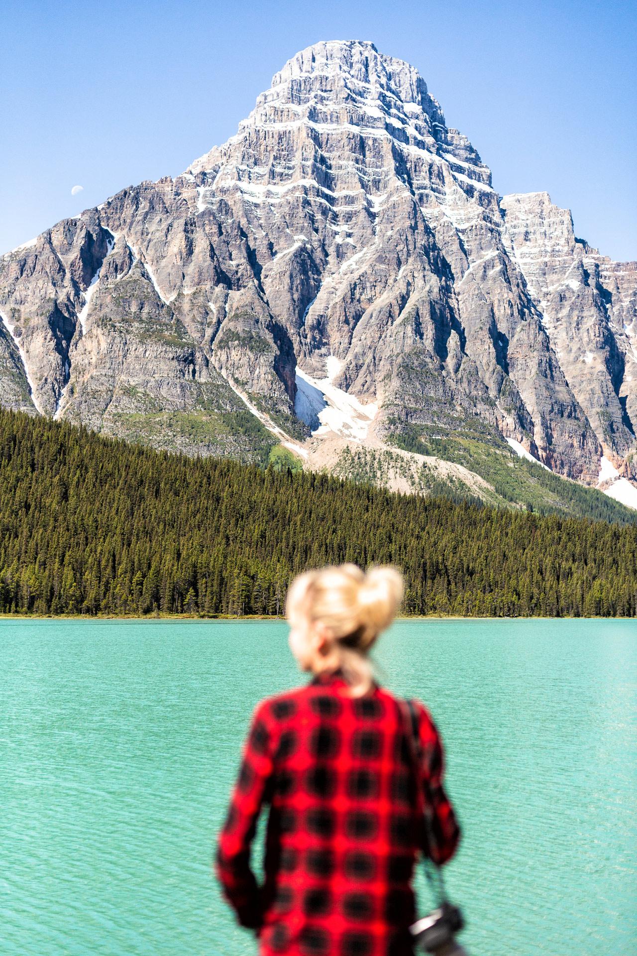 Mont Chephren promenade des Glaciers Canada