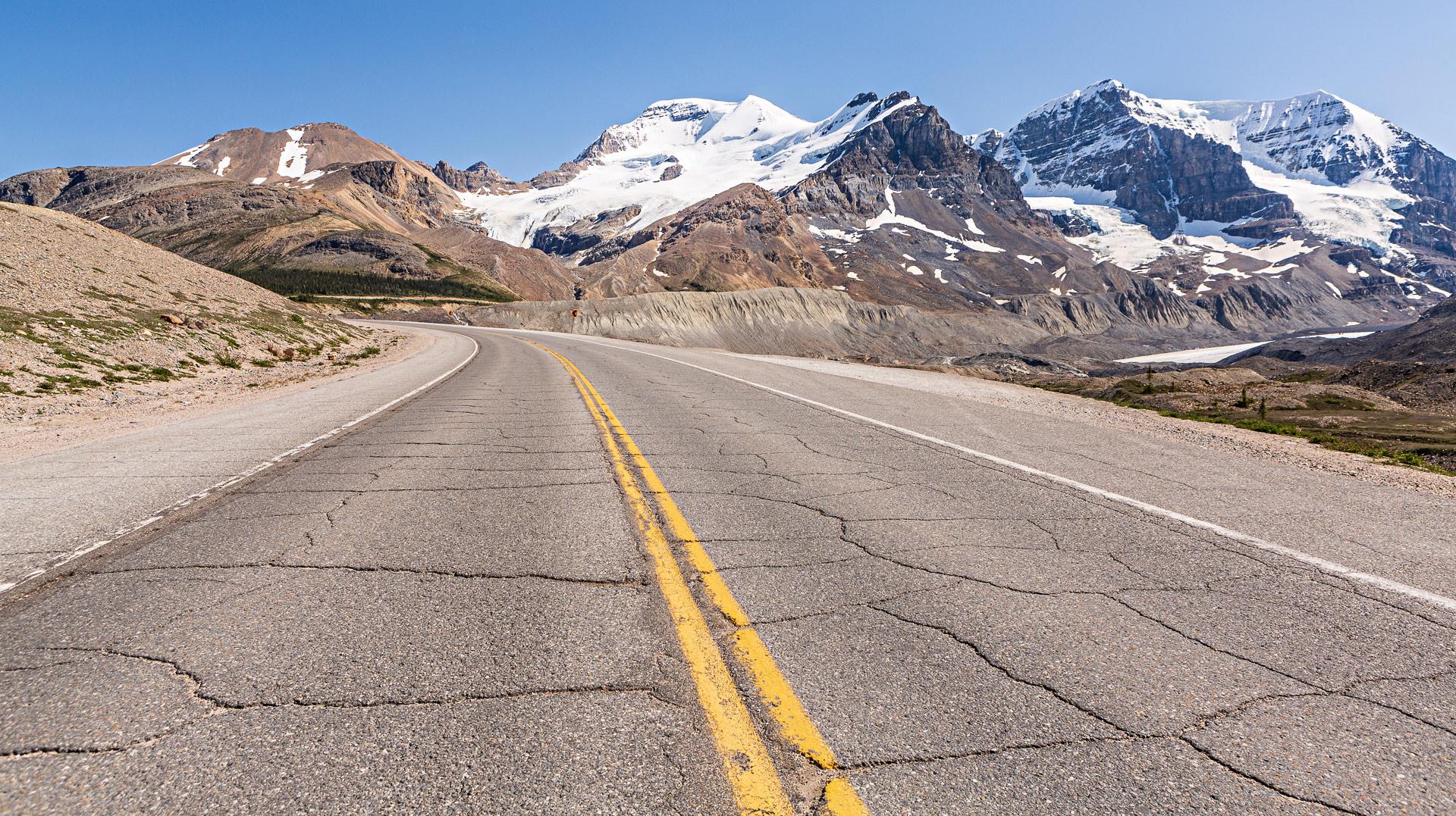 Icefields Parkway promenade des Glaciers Canada