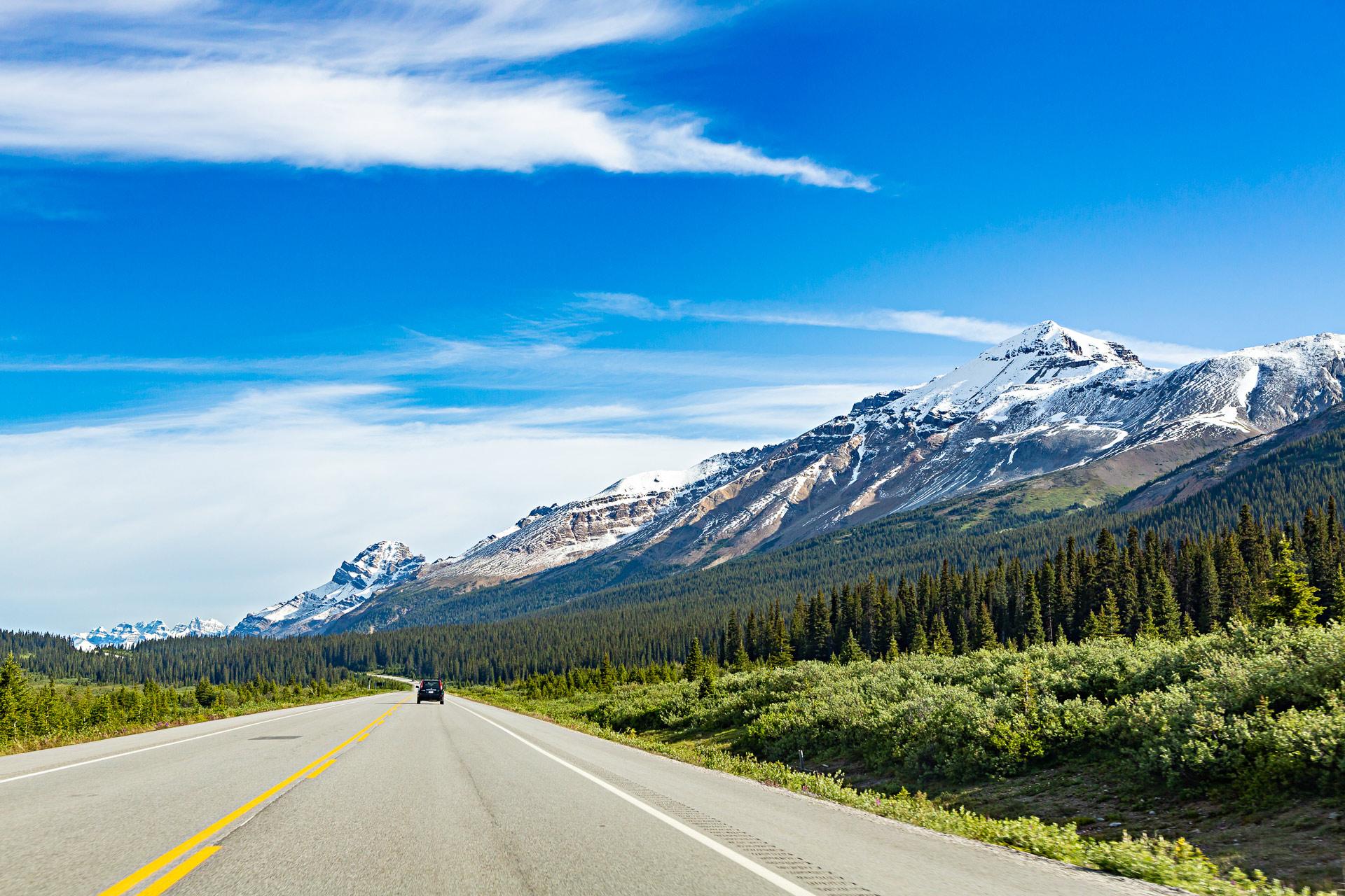 Voyage Canada promenade des Glaciers