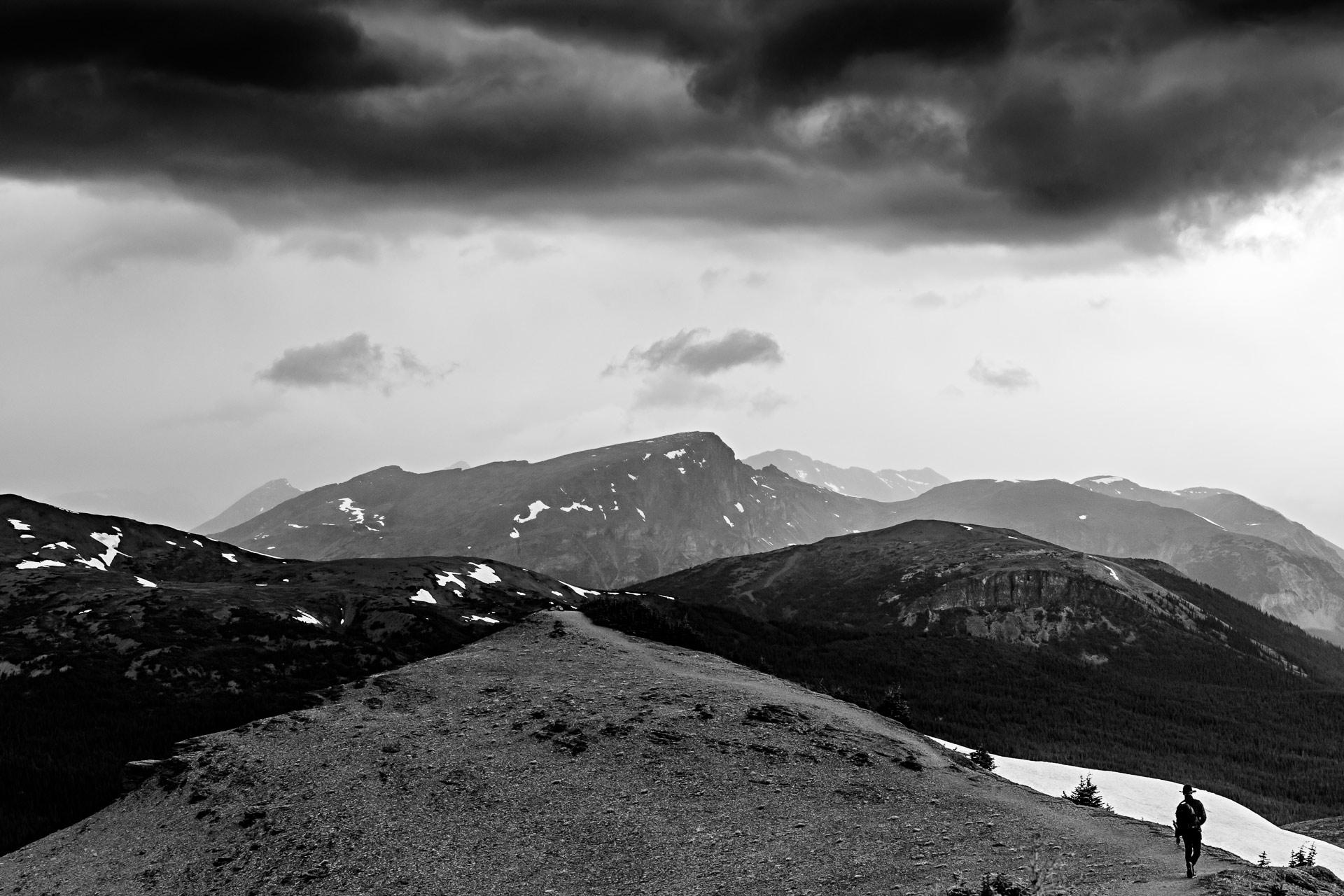 Crêtes Bald Hills Trail Jasper Canada