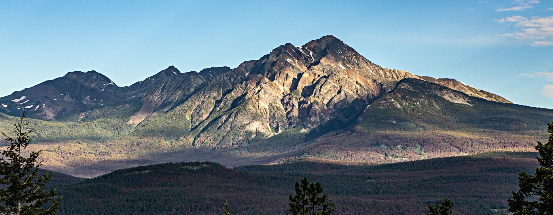 Montagne Jasper Alberta Canada