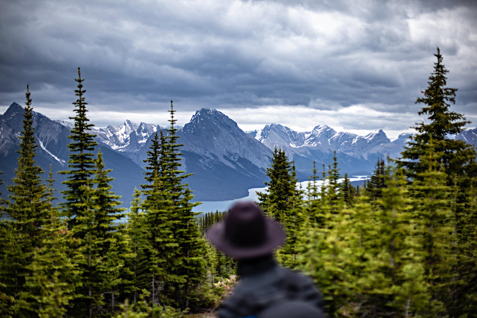 Maligne Lake Jasper Canada Ouest