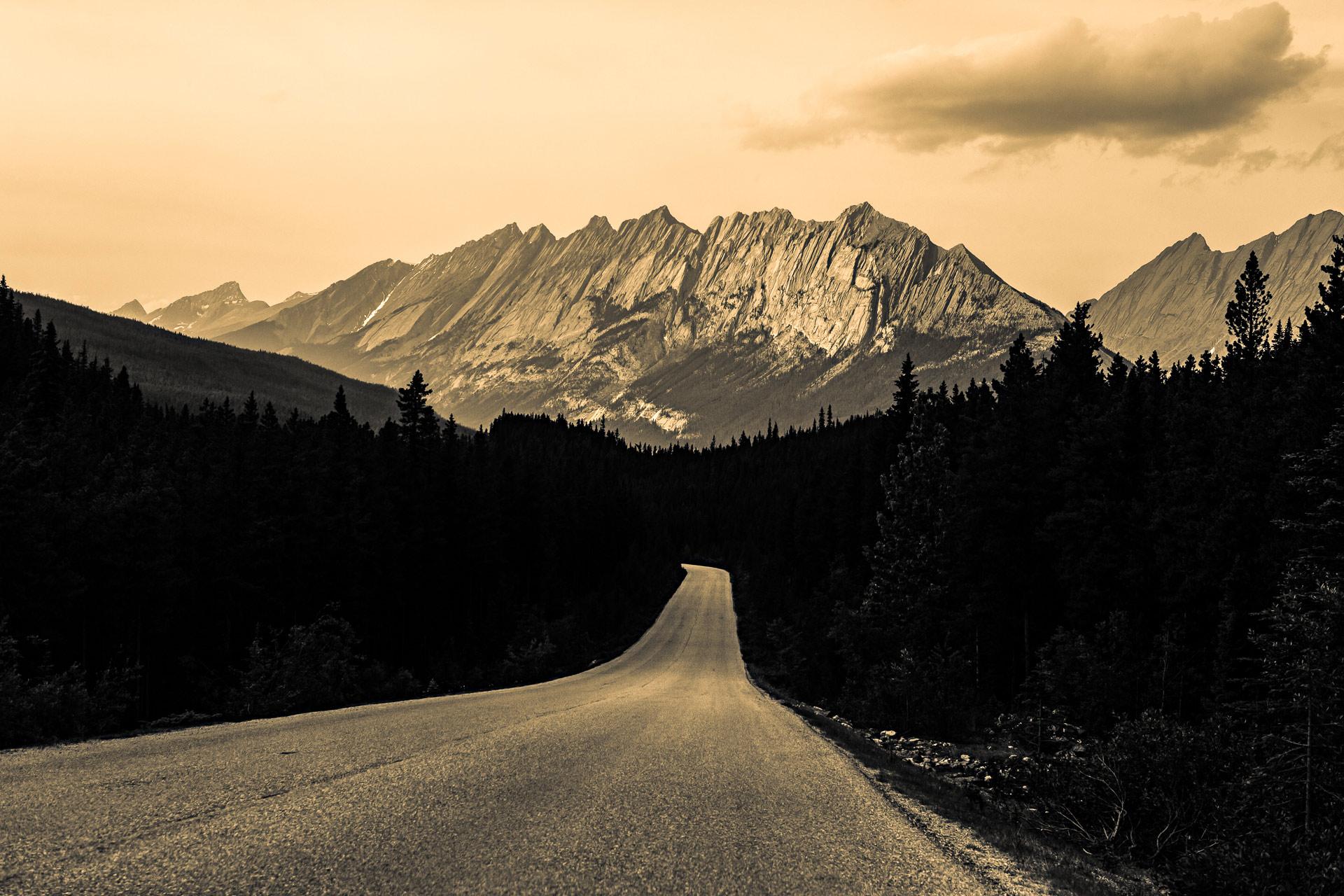 Maligne Lake Road Jasper Alberta Canada