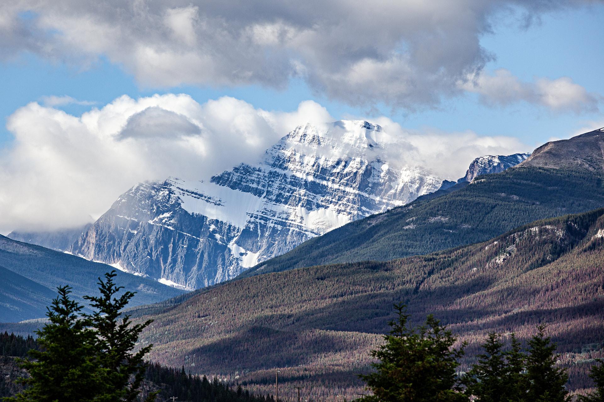 Mont Edith Cavell Jasper Alberta Canada
