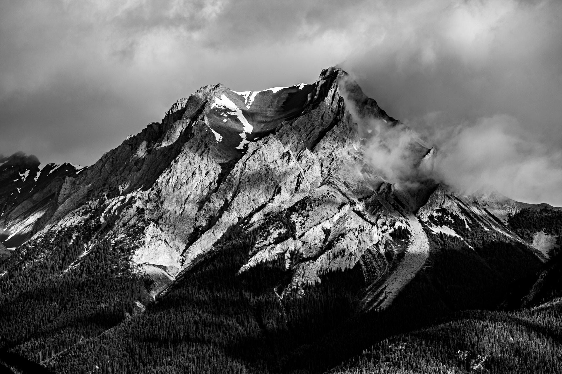 Montagne Jasper Alberta Canada Ouest