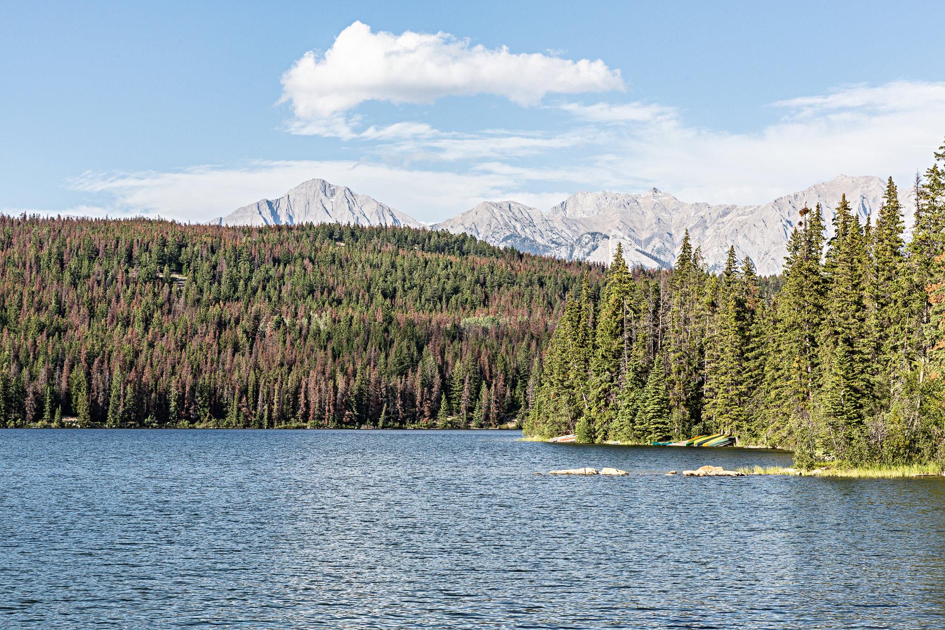 Lac Pyramid Jasper Alberta Canada