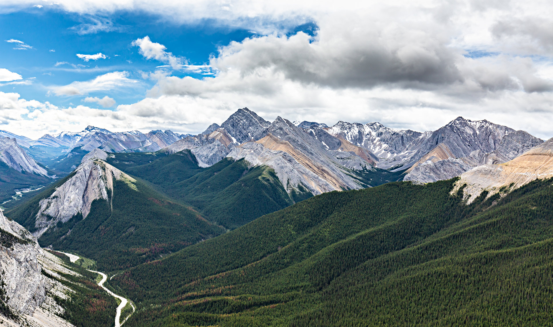 Sulphur Skyline Trail Jasper Canada Ouest