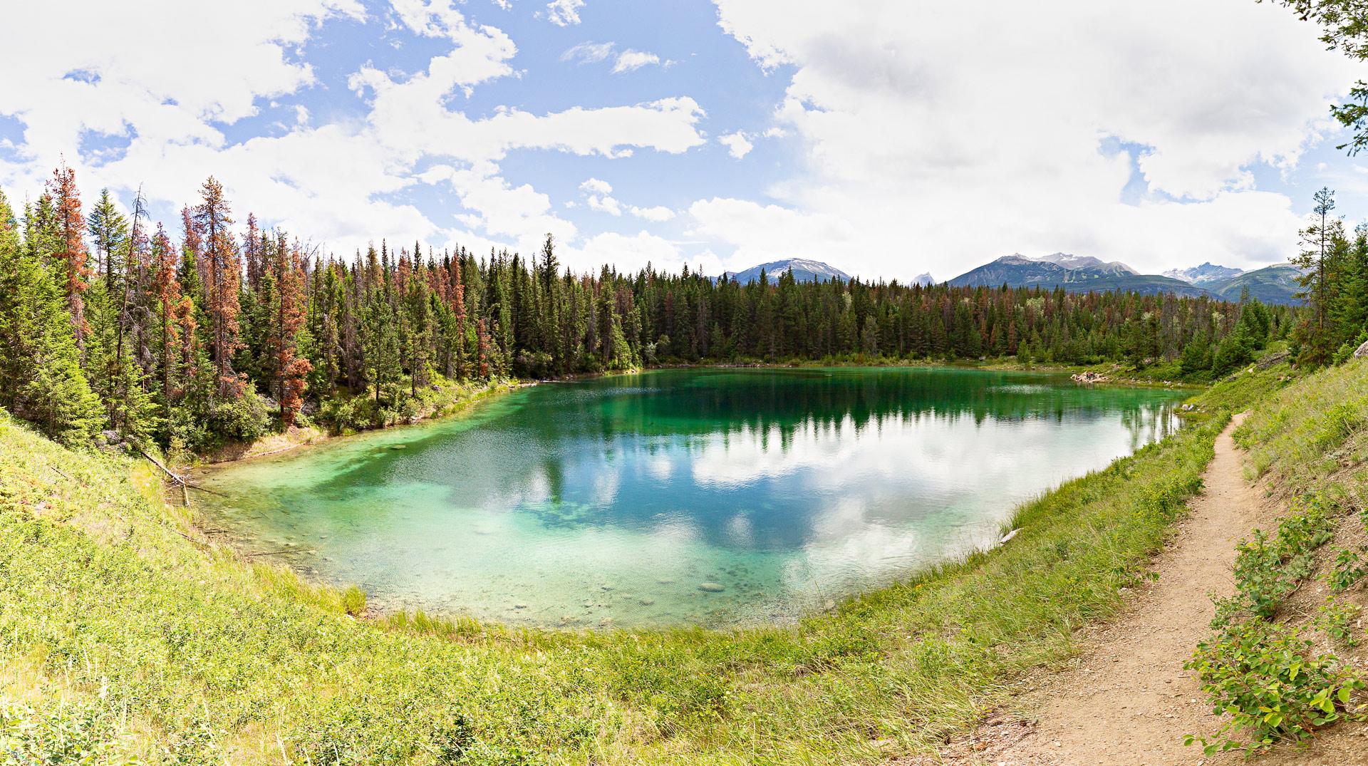 Vallée des cinq lacs Jasper Canada