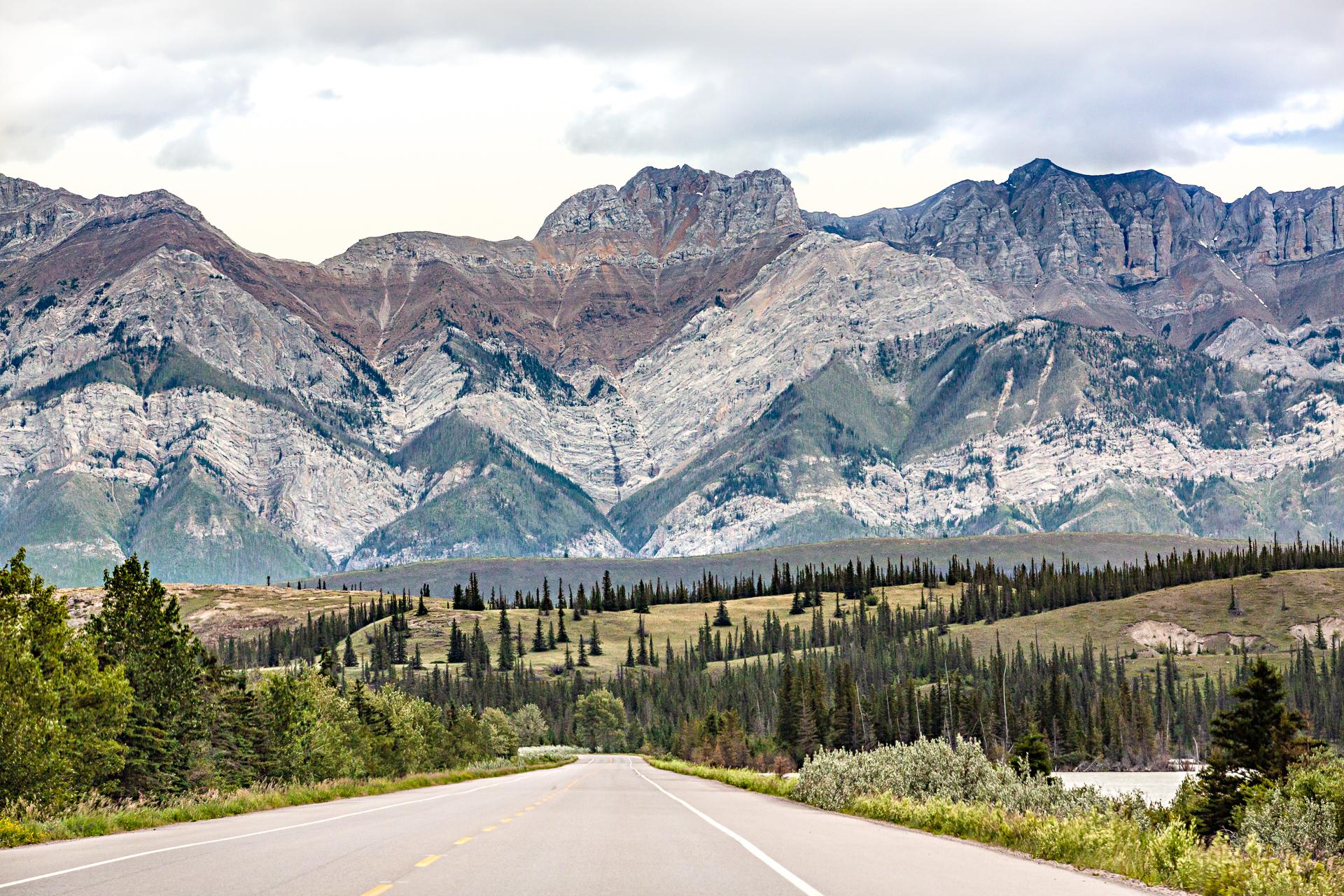 Yellohead Highway Jasper Canada Ouest