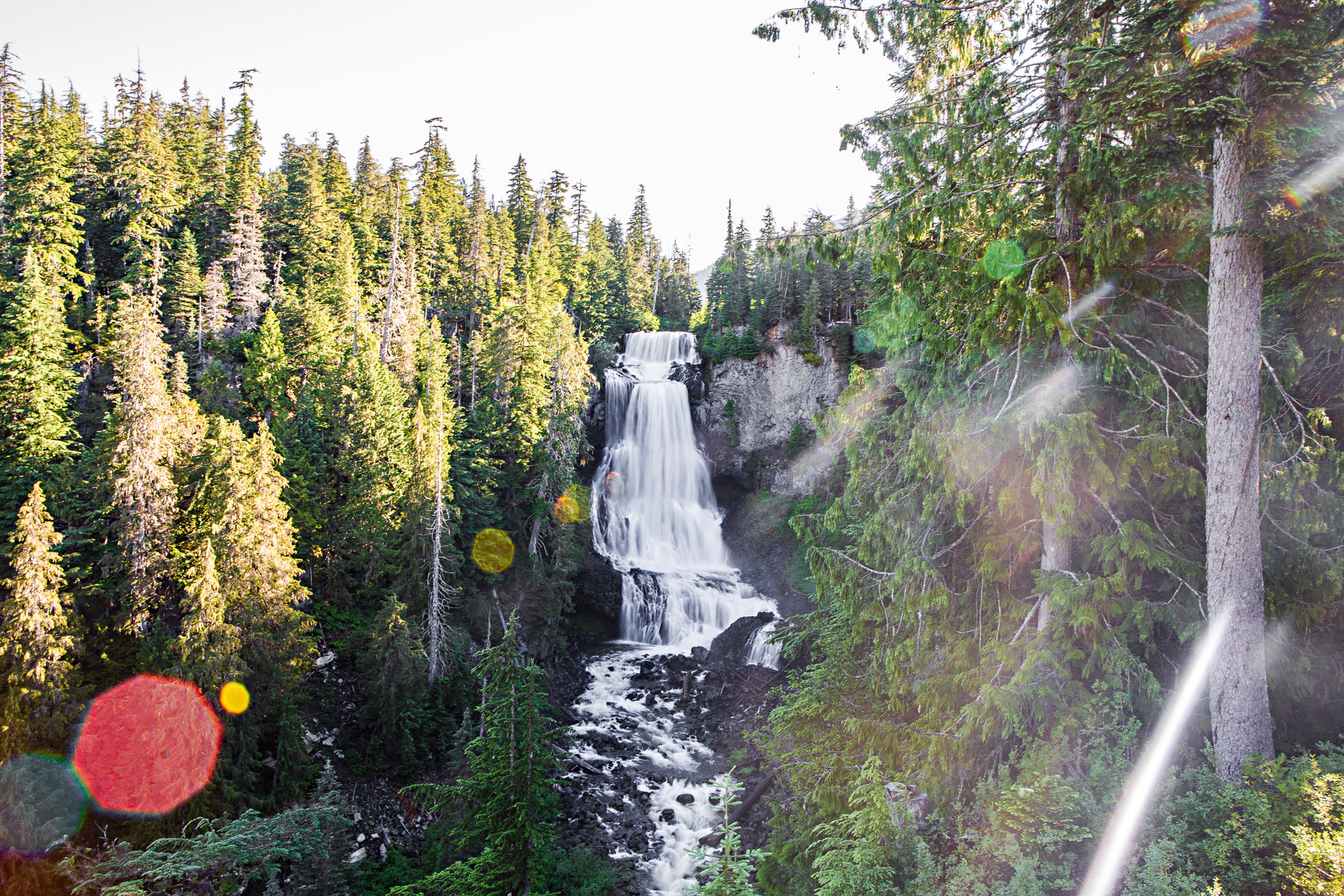 Alexander Falls Colombie-Britannique Canada