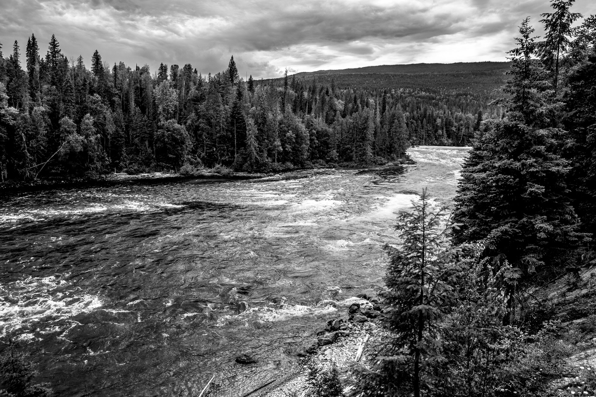 Clearwater River Colombie-Britannique Canada