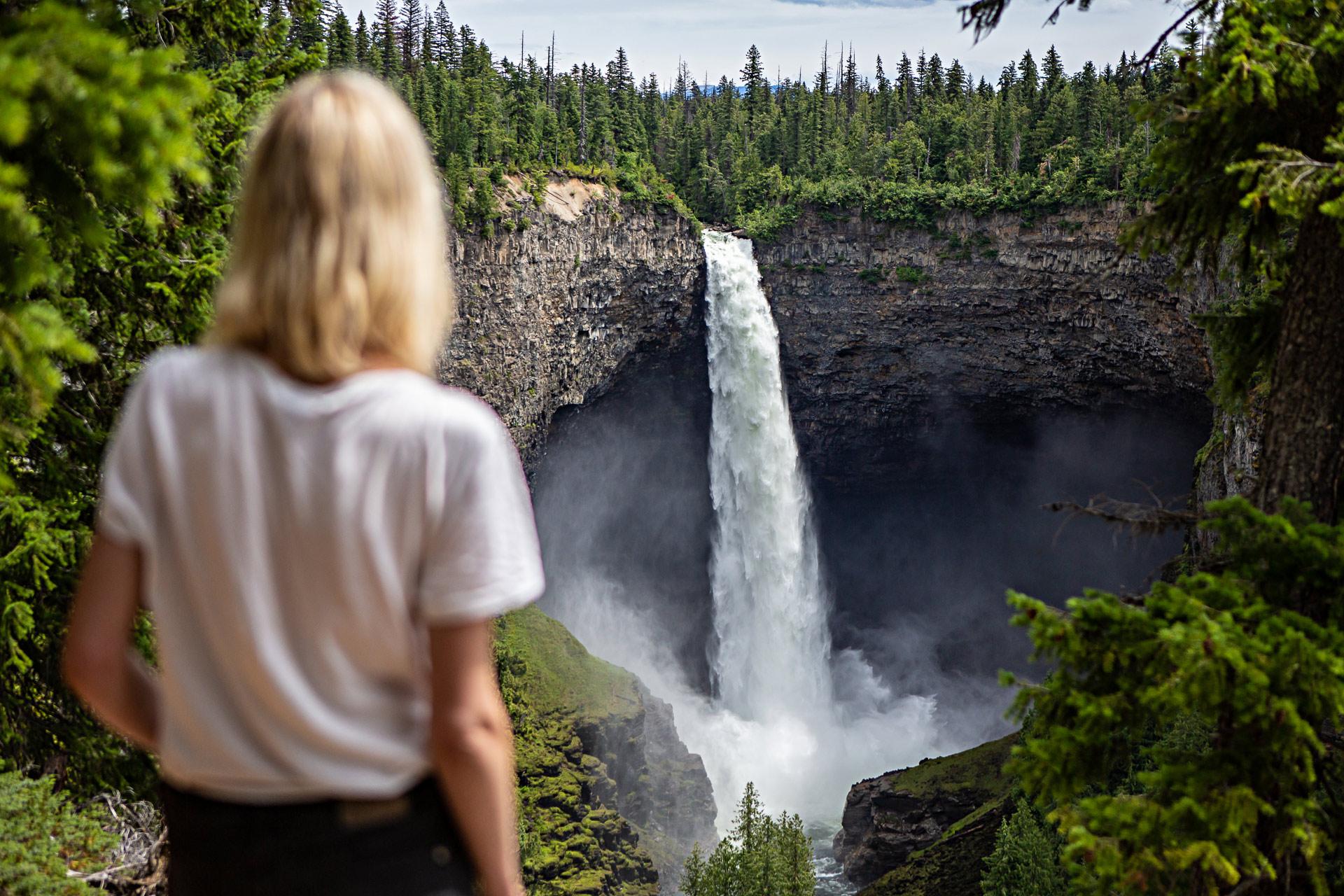 Helmcken Falls Colombie-Britannique Canada