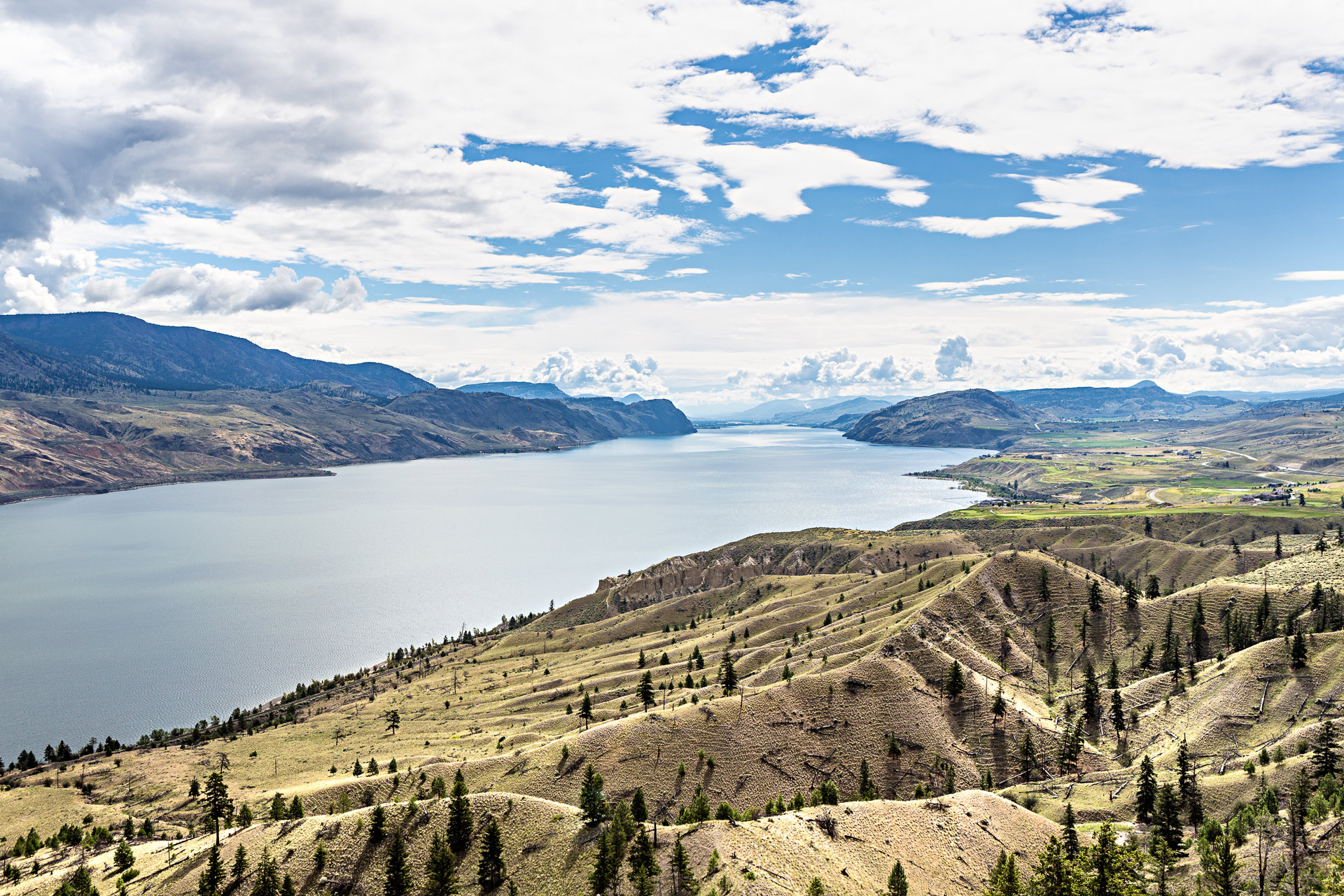 Kamloops Lake Colombie-Britannique Canada