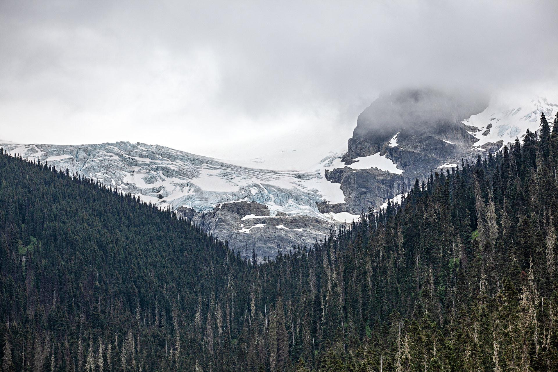 Glacier Matier Joffre Lake Colombie-Britannique