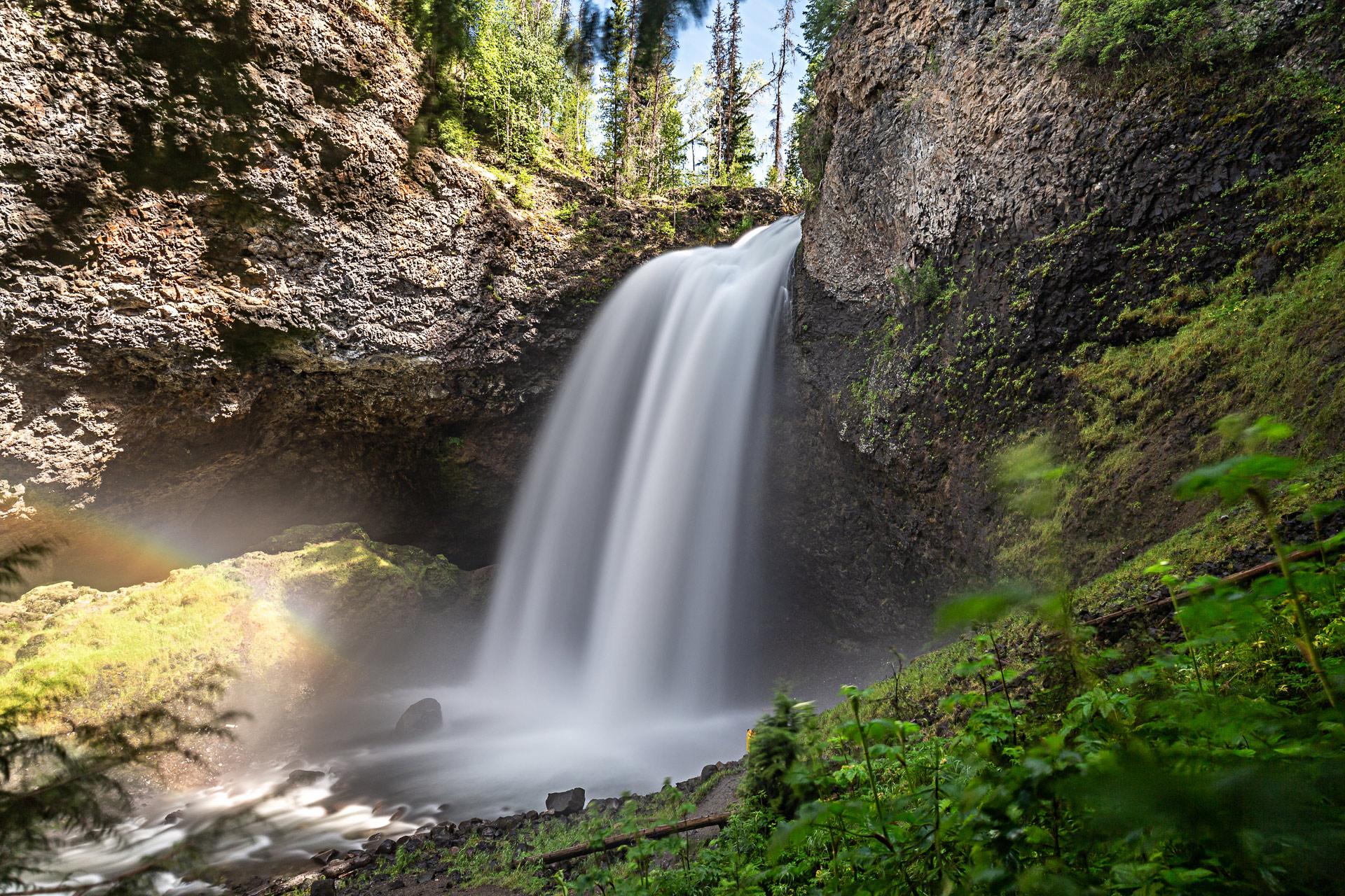 Moul Falls Wells Grey Colombie-Britannique Canada