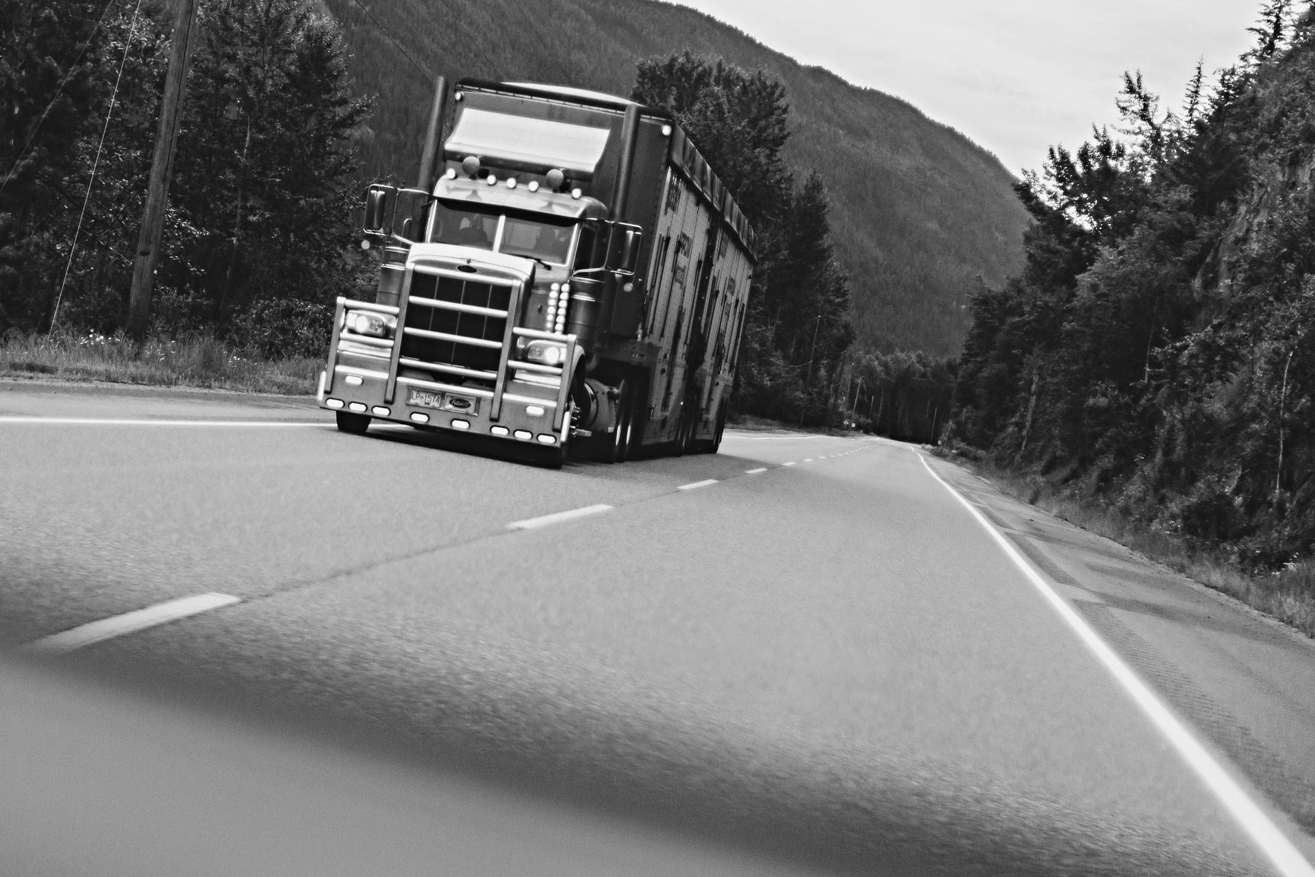Camion Colombie-Britannique Canada