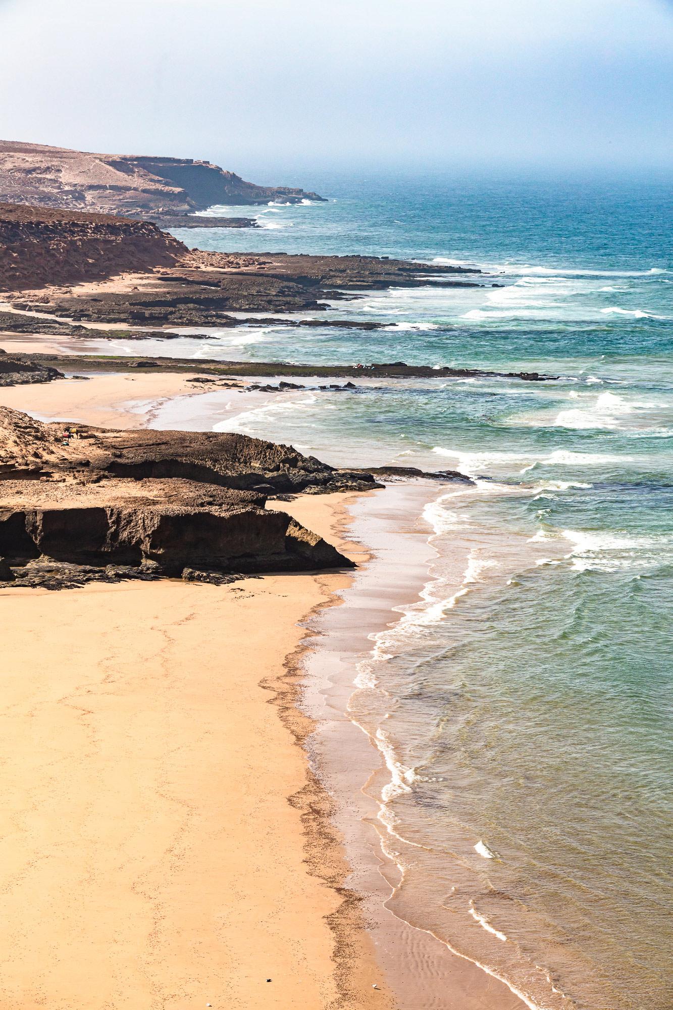 Trek au Maroc Agadir Essaouira plage