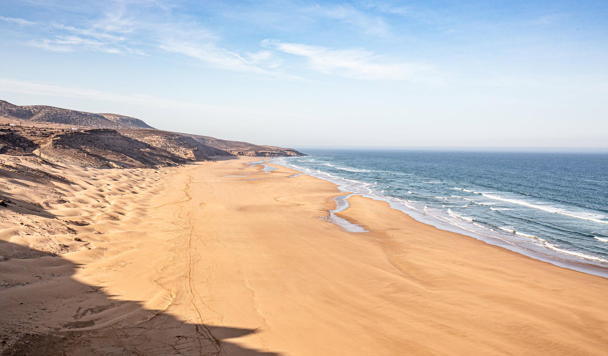 Trek au Maroc plage Sidi Ahmed Assayh