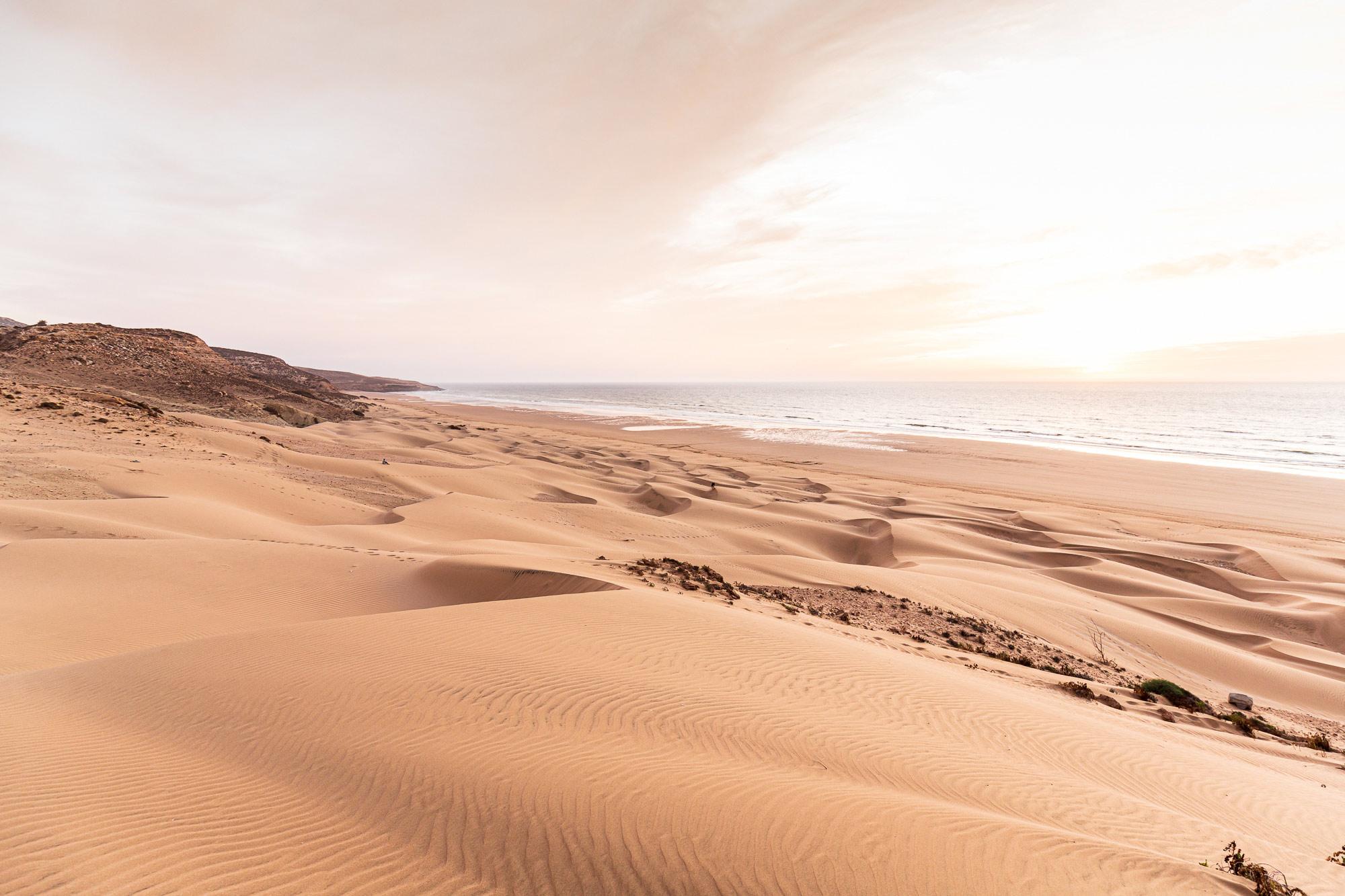 Trek au Maroc dunes Sidi Ahmed Assayh