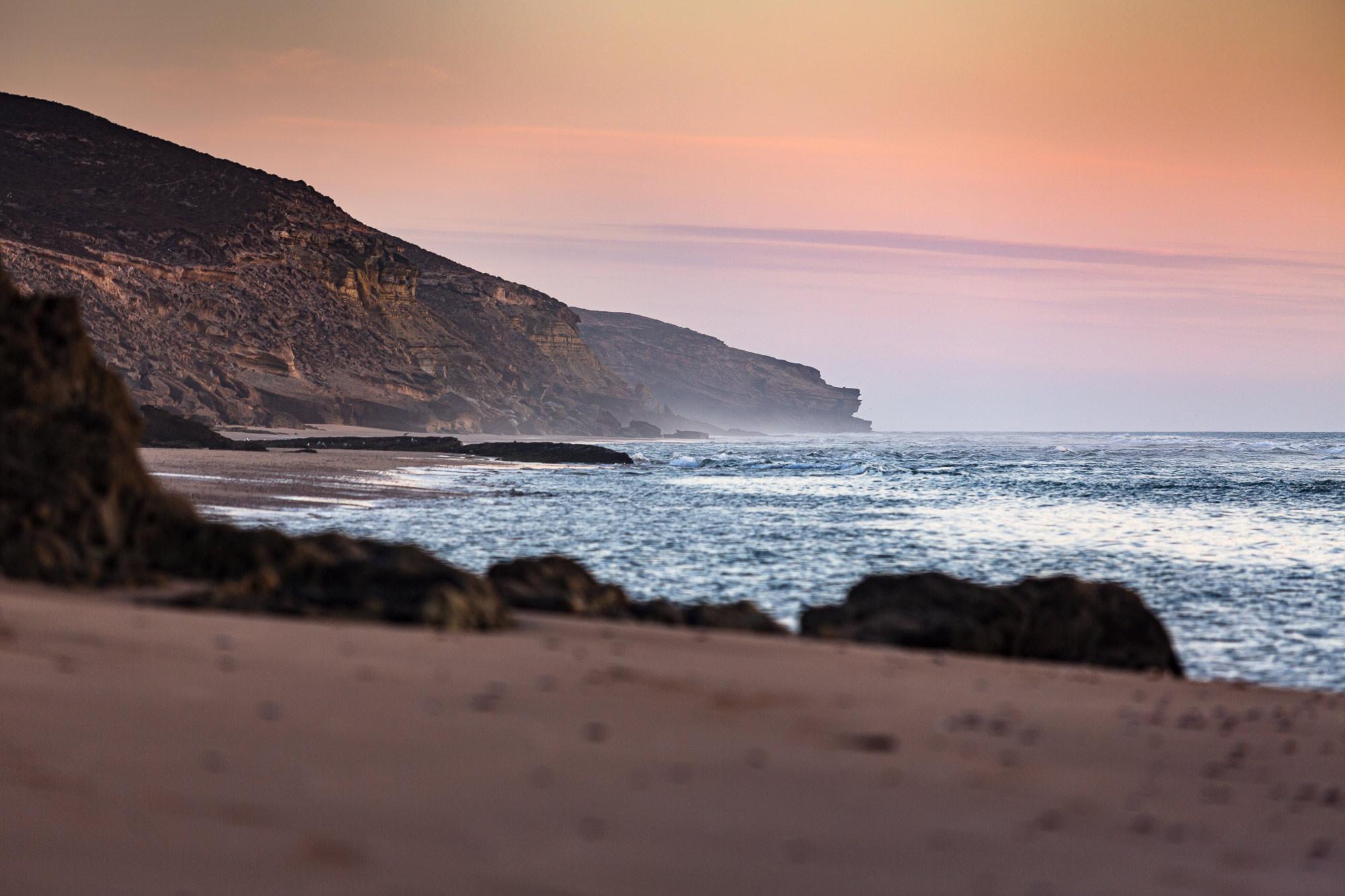 Trek Maroc plage Sidi M'Barek