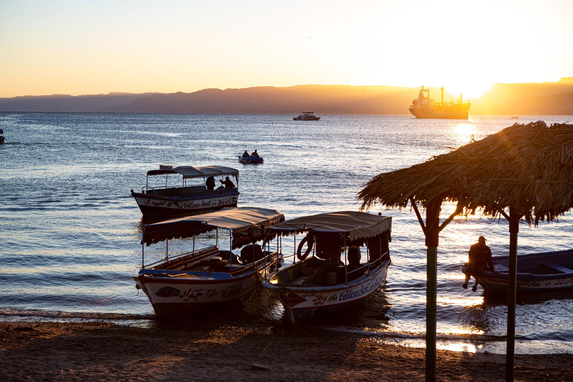 voyage en Jordanie Aqaba plage