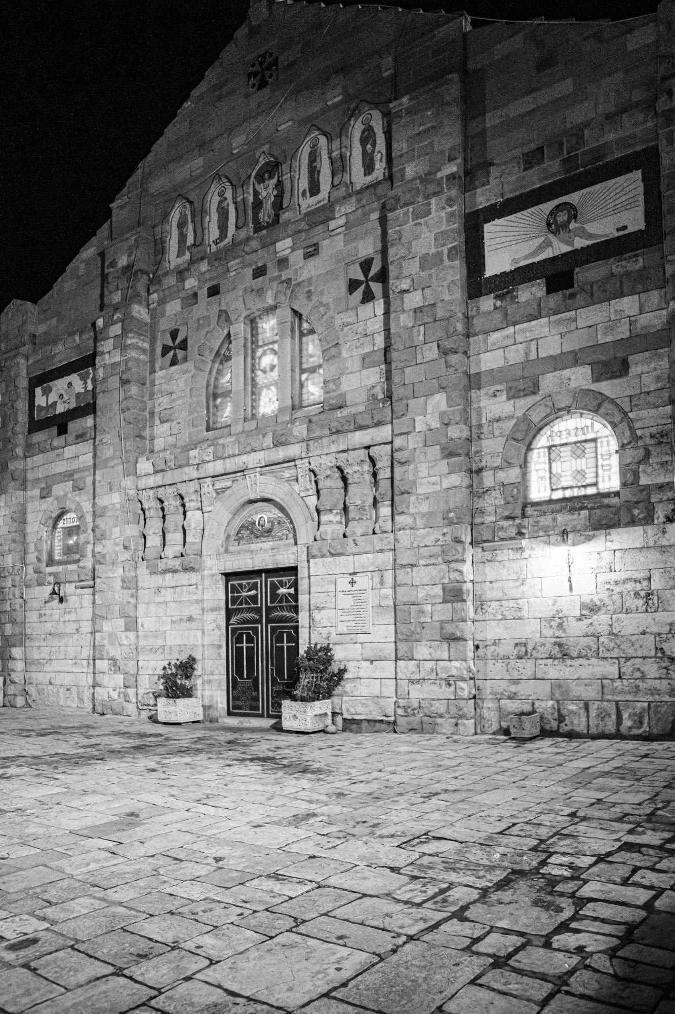 voyage en Jordanie Madaba église Saint Jean Baptiste