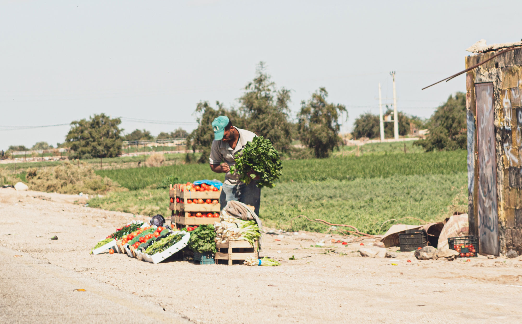 voyage en Jordanie marché