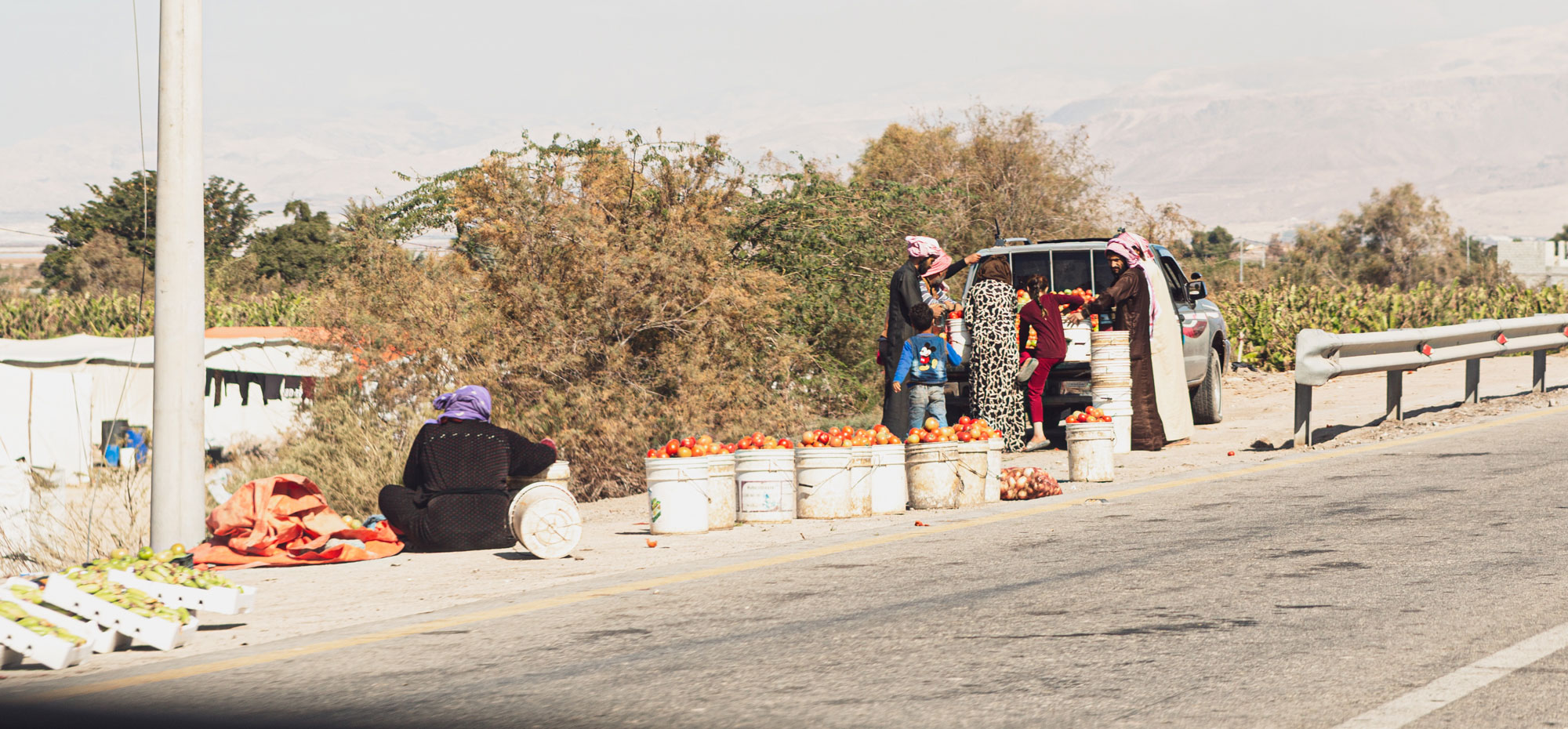 voyage en Jordanie marchés