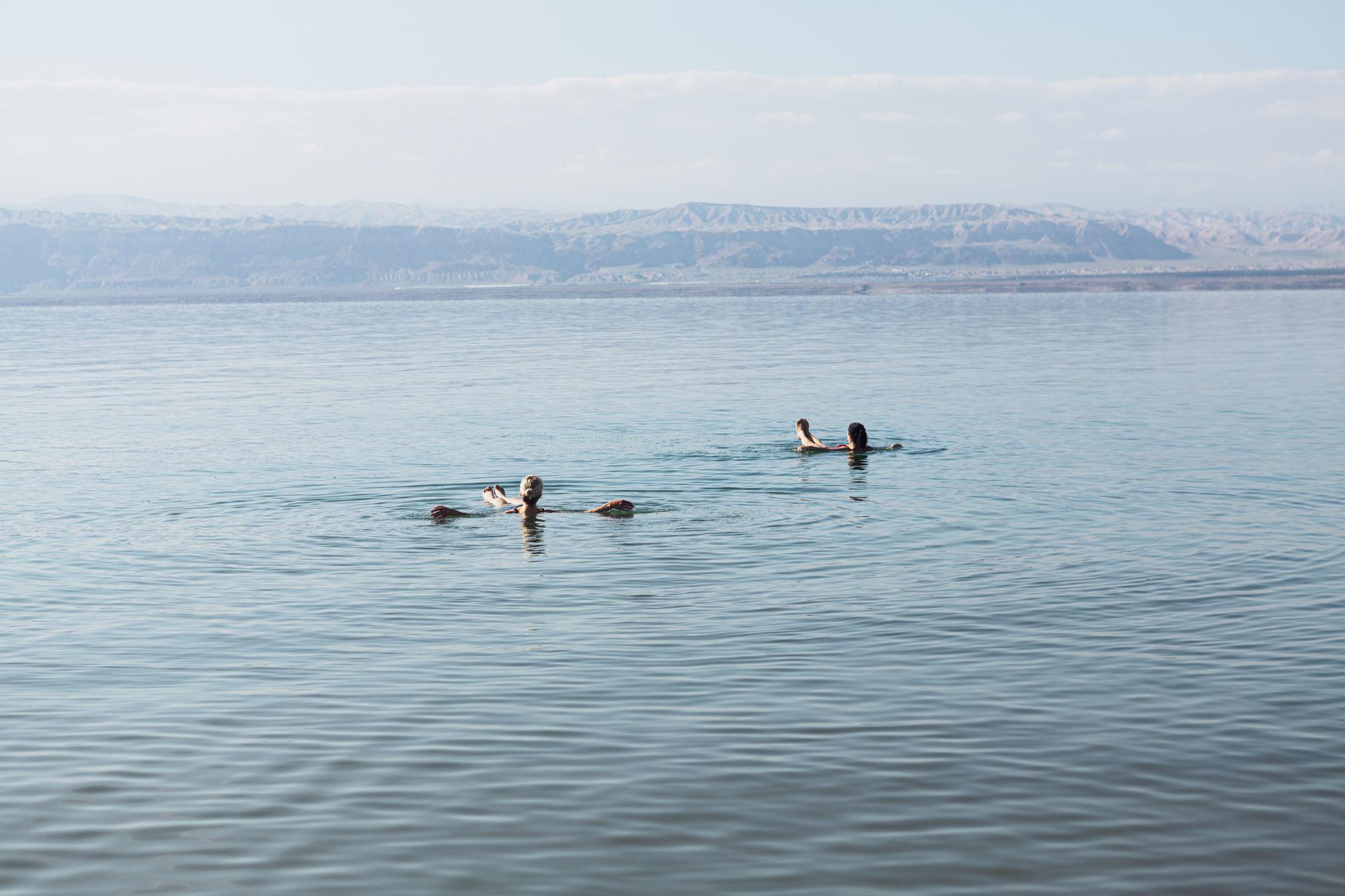 voyage en Jordanie mer Morte