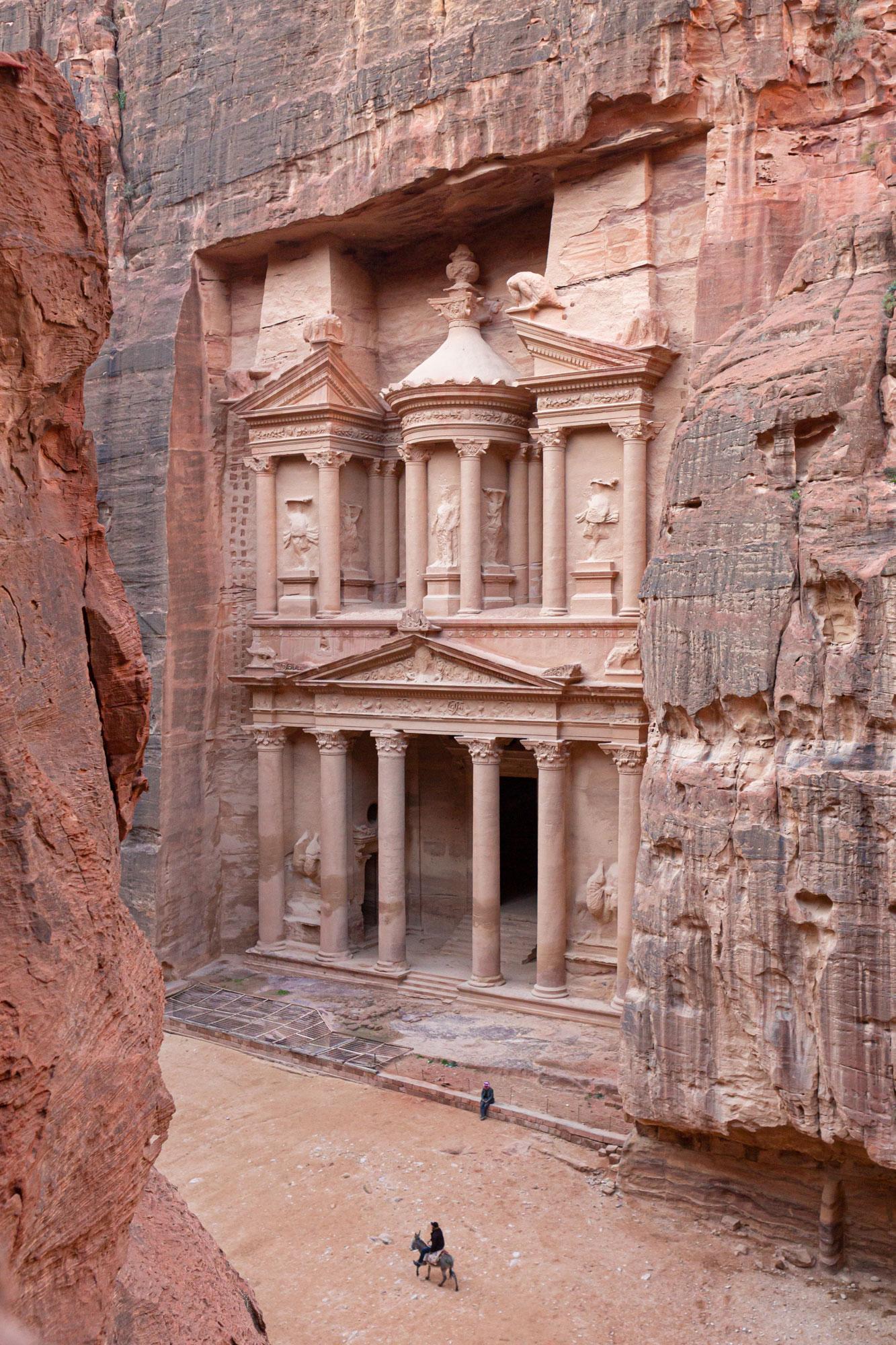 voyage en Jordanie Pétra Al-Khazneh