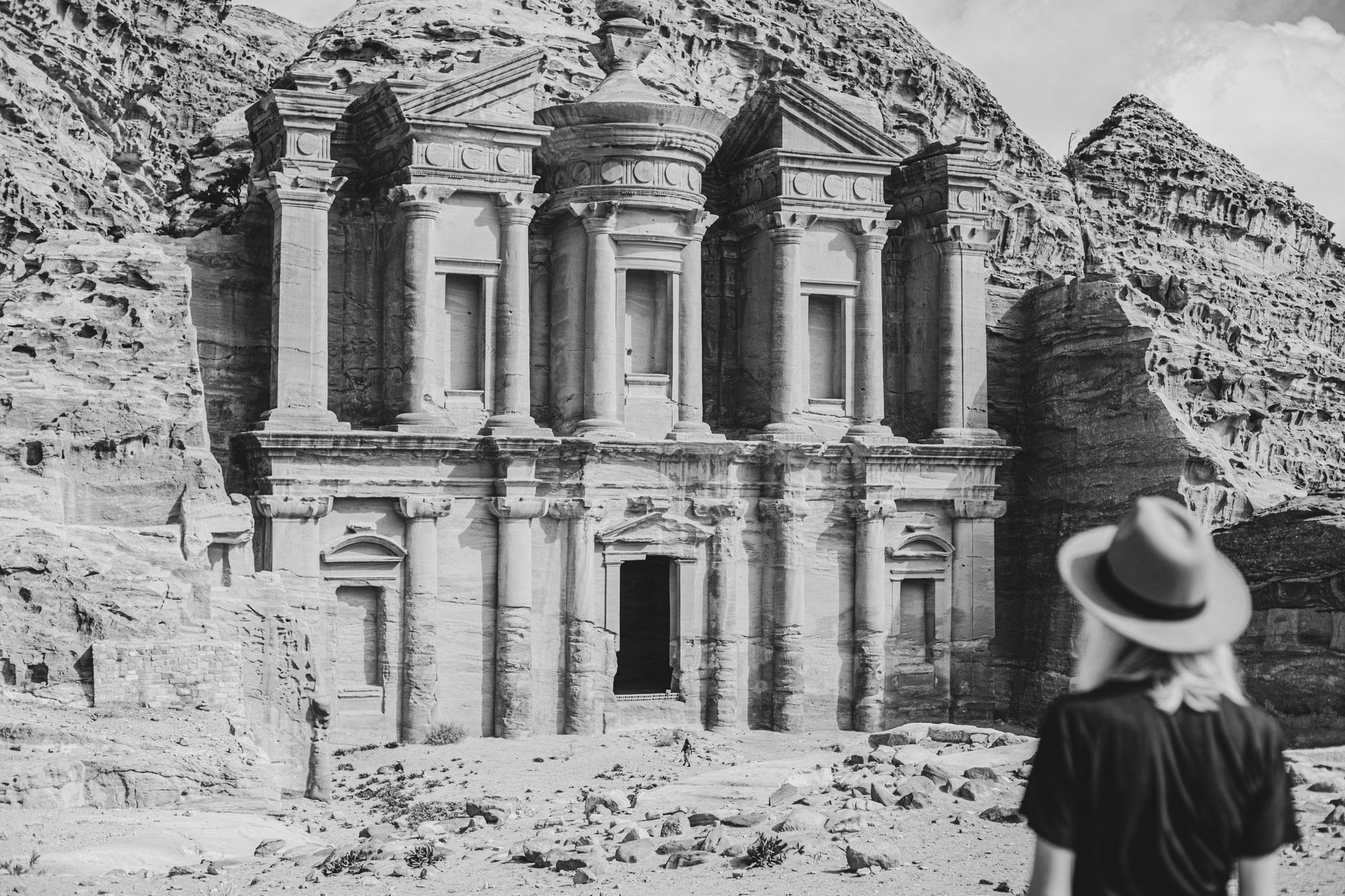 voyage en Jordanie Pétra monastère Al-Deir