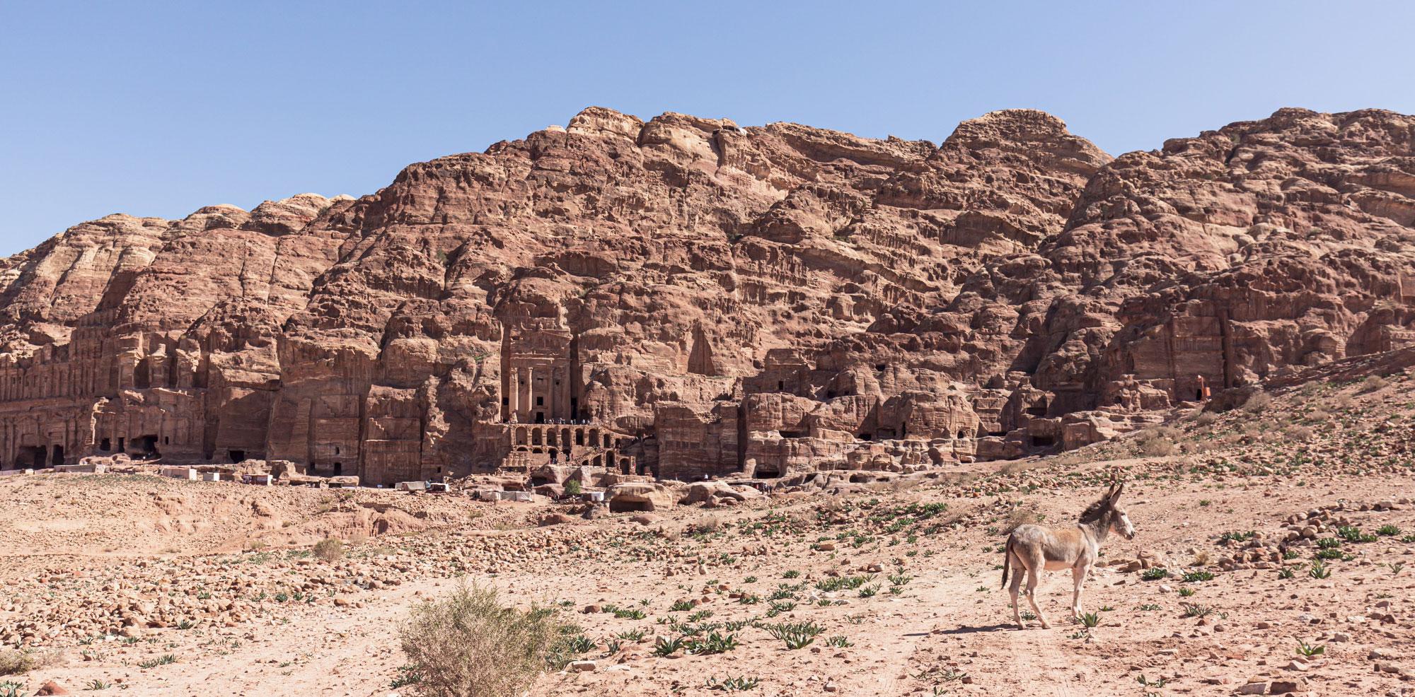 voyage en Jordanie Pétra tombes royales