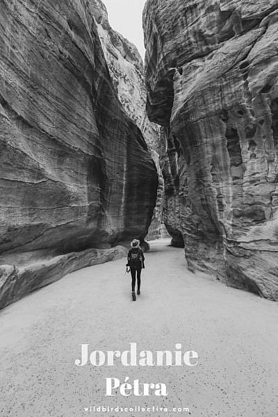 voyage en Jordanie Pétra Siq