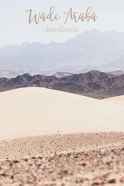 voyage en Jordanie Wadi Araba