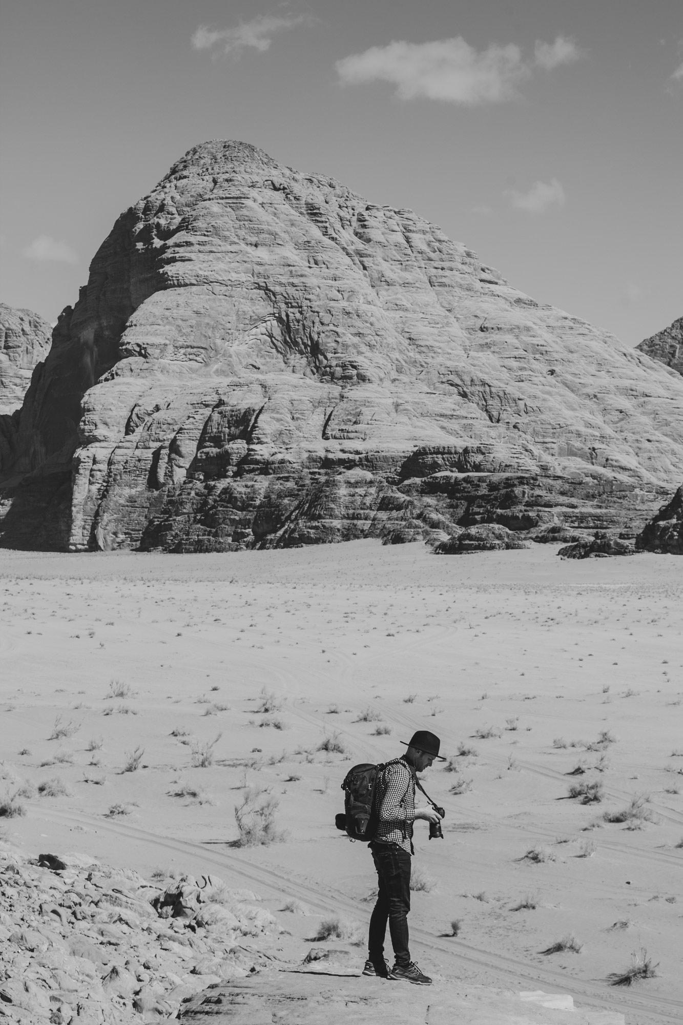 voyage en Jordanie matériel photo
