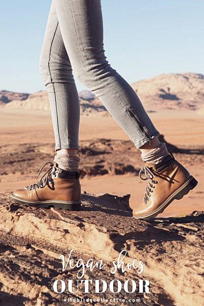chaussures véganes pour la randonnée
