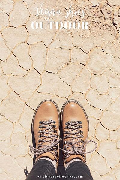 chaussures véganes pour l'outdoor
